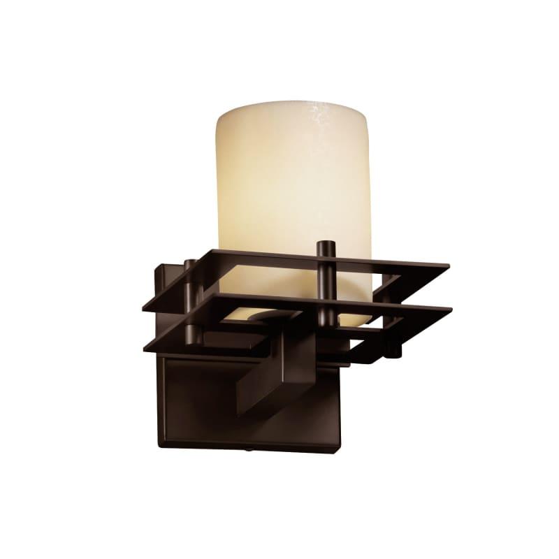 Justice Design Group CNDL-8171-10-CREM CandleAria 1 Light Bathroom