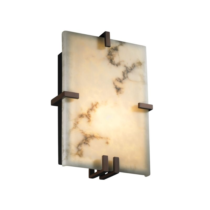 "Justice Design Group FAL-5551 LumenAria 8.5"" ADA Compliant Wall Sconce"