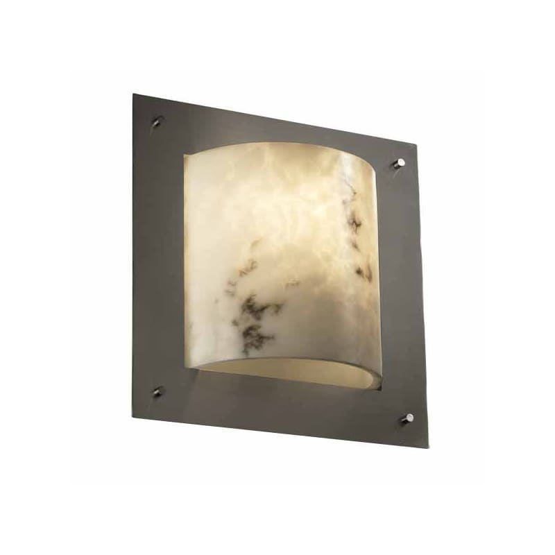 "Justice Design Group FAL-5561 LumenAria 12"" Framed 1 Light ADA Wall"