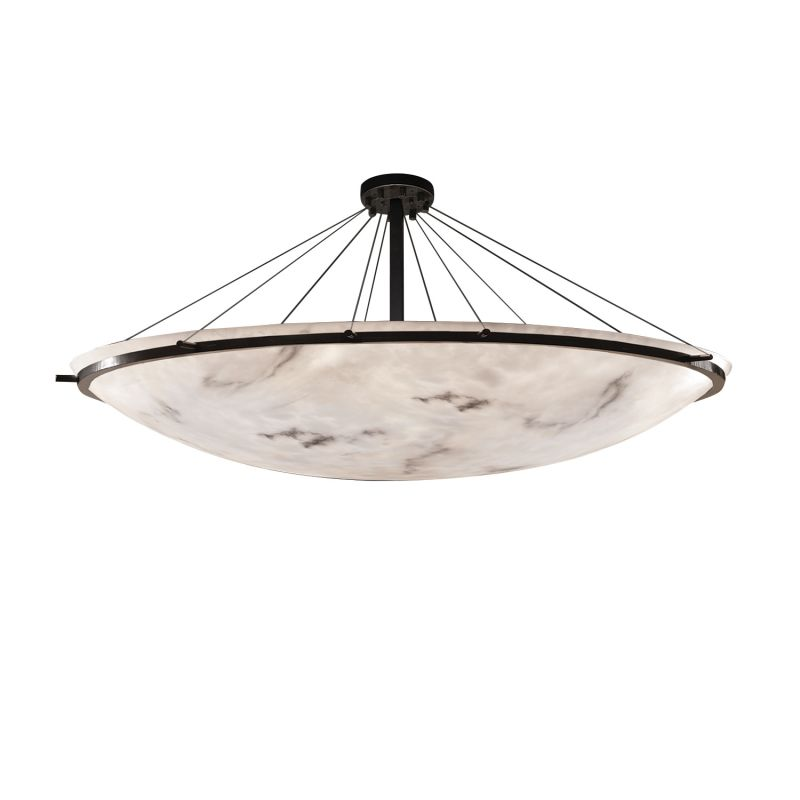 "Justice Design Group FAL-9688-35 Lumenaria 75"" Wide Ring 16 Light"