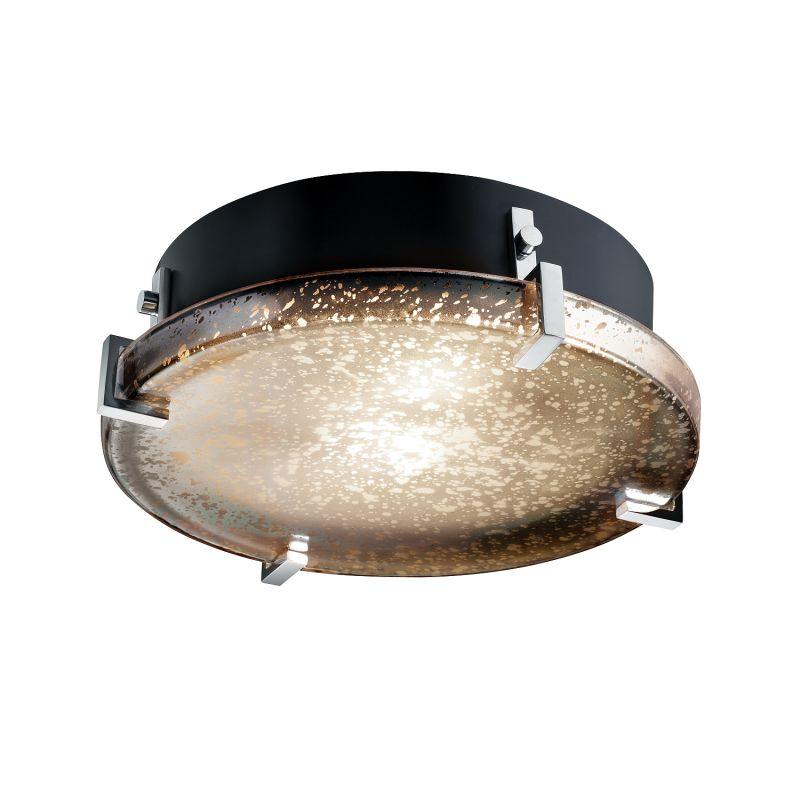 """Justice Design Group FSN-5545-MROR-LED-2000 Fusion Collection 12"""""""