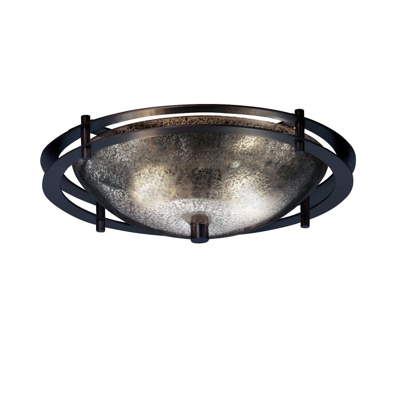 "Justice Design Group FSN-8150-35-MROR-LED-2000 Fusion 14"" Round Bowl"