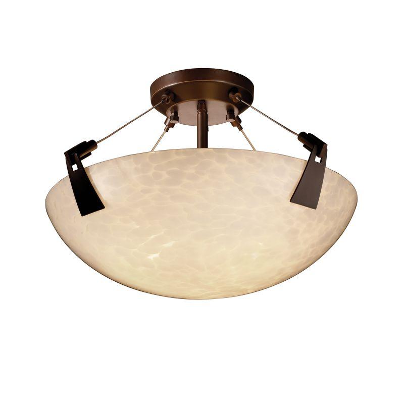 "Justice Design Group FSN-9631-35-DROP-LED-3000 Fusion 18"" Round Bowl Sale $595.00 ITEM: bci2857766 ID#:FSN-9631-35-DROP-DBRZ-LED3-3000 :"