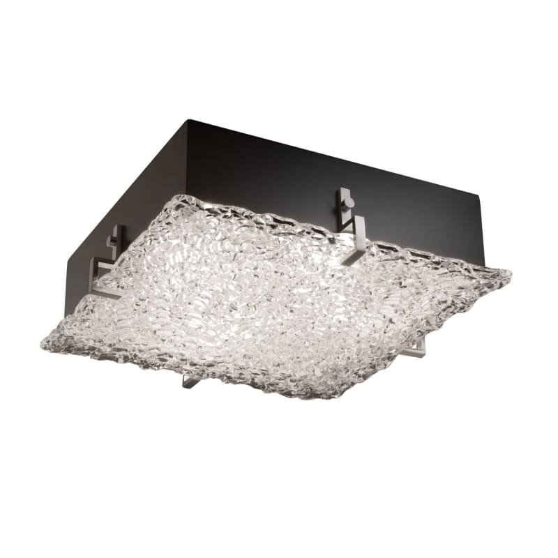"Justice Design Group GLA-5557-LACE Veneto Luce Collection 17"" Wide Sale $467.50 ITEM: bci2851474 ID#:GLA-5557-LACE-NCKL UPC: 784689502856 :"