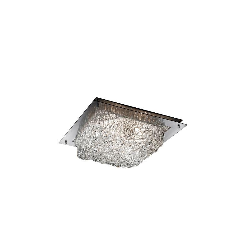 "Justice Design Group GLA-5565-LACE-LED-2000 Veneto Luce Collection 12"" Sale $459.00 ITEM: bci2493187 ID#:GLA-5565-LACE-NCKL-LED2-2000 :"