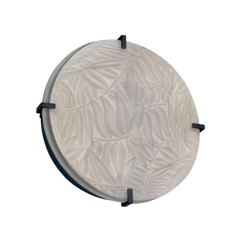 "Justice Design Group PNA-5547-BMBO-LED-3000 Porcelina Collection 16"""