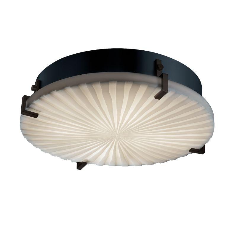 """Justice Design Group PNA-5547-WFAL-LED-3000 Porcelina Collection 16"""""""