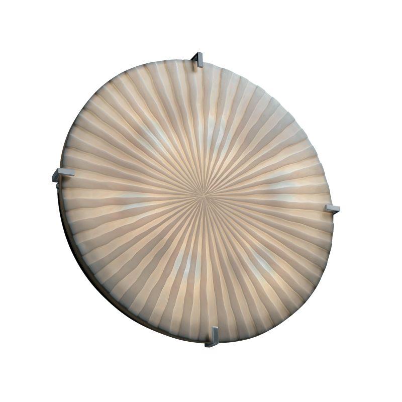 """Justice Design Group PNA-5548-WFAL-LED-5000 Porcelina Collection 24"""""""