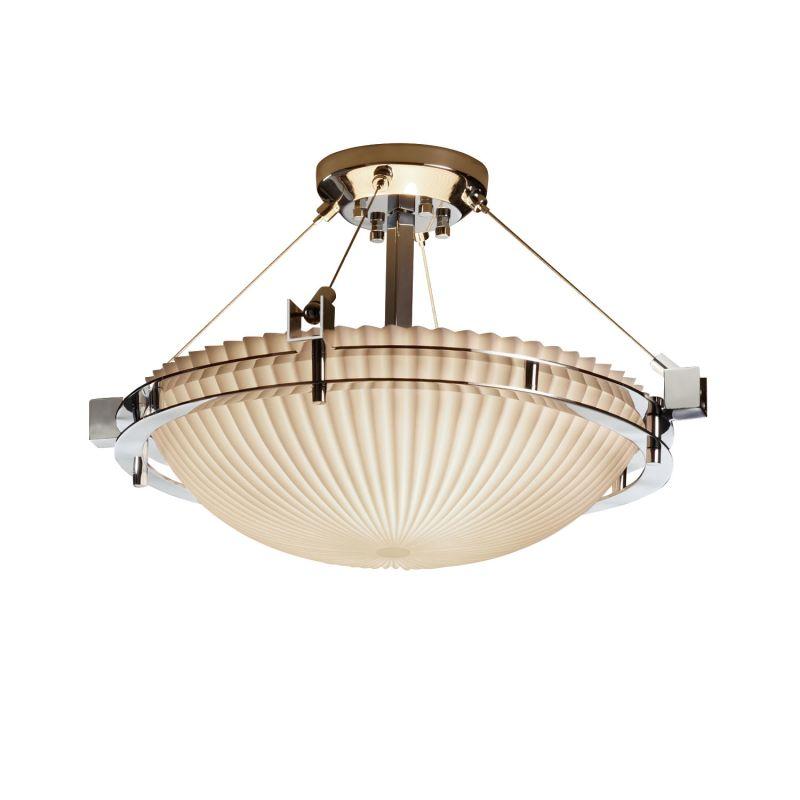 Justice Design Group PNA-8111-35-PLET-LED-3000 Porcelina Collection