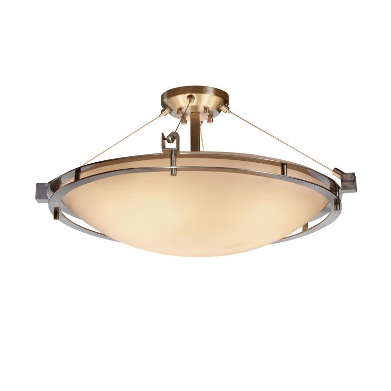 Justice Design Group PNA-8112-35-SMTH-LED-5000 Porcelina Collection