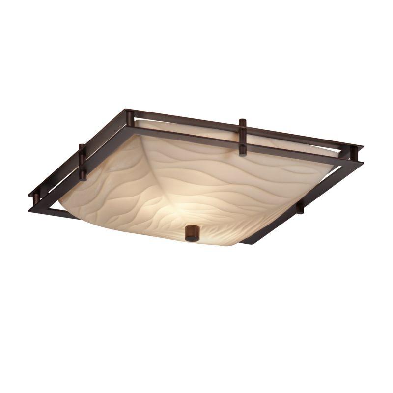 Justice Design Group PNA-8160-25-WAVE-LED-2000 Porcelina Collection