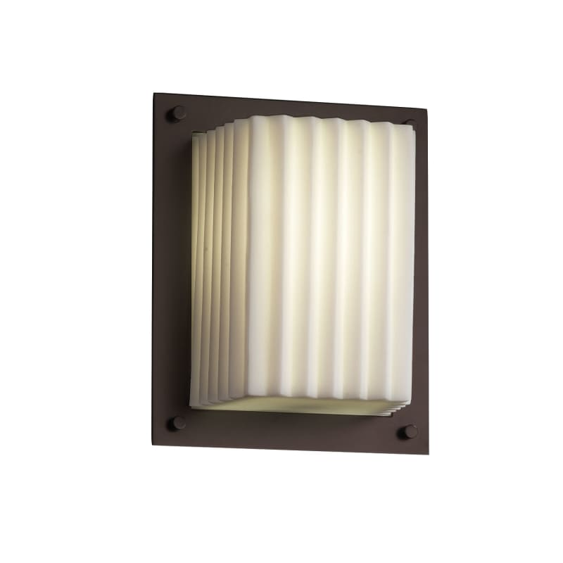Justice Design Group PNA-8891-PLET Porcelina 1 Light ADA Compliant