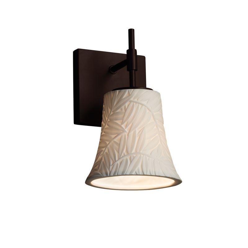 justice design group cer5960 single light 135 large ada. Black Bedroom Furniture Sets. Home Design Ideas