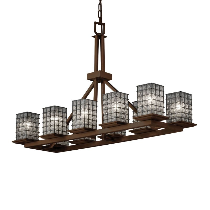 Justice Design Group WGL-8650-15-GRCB Wire Glass 10 Light 1 Tier Sale $848.30 ITEM: bci2584090 ID#:WGL-8650-15-GRCB-NCKL :