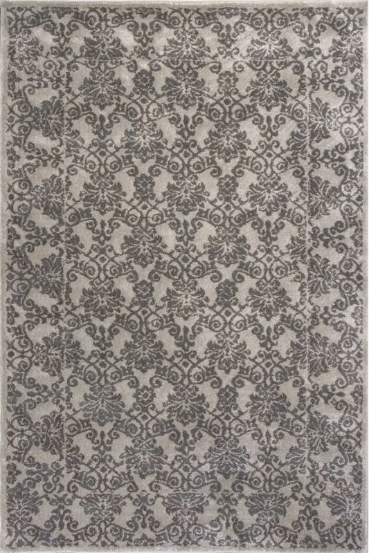 KAS Rugs Donny Osmond Home Timeless 8001 Silver Tranquility