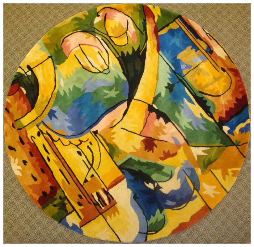 KAS Rugs Signature 9014 Rainbow Palette Hand-Tufted 100% Wool Area Rug Sale $414.00 ITEM: bci2774506 ID#:SIG901456X56RO UPC: 757618024958 :