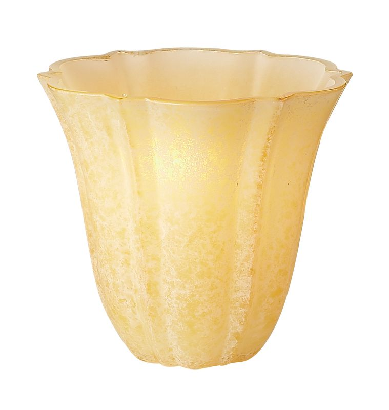 Kalco 1356 Travertine Side Glass Shade Travertine Accessory