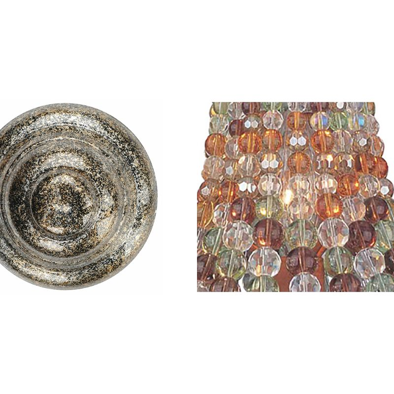 Kalco 2561 Chesapeake 1 Light Bathroom Sconce Antique Silver Leaf /