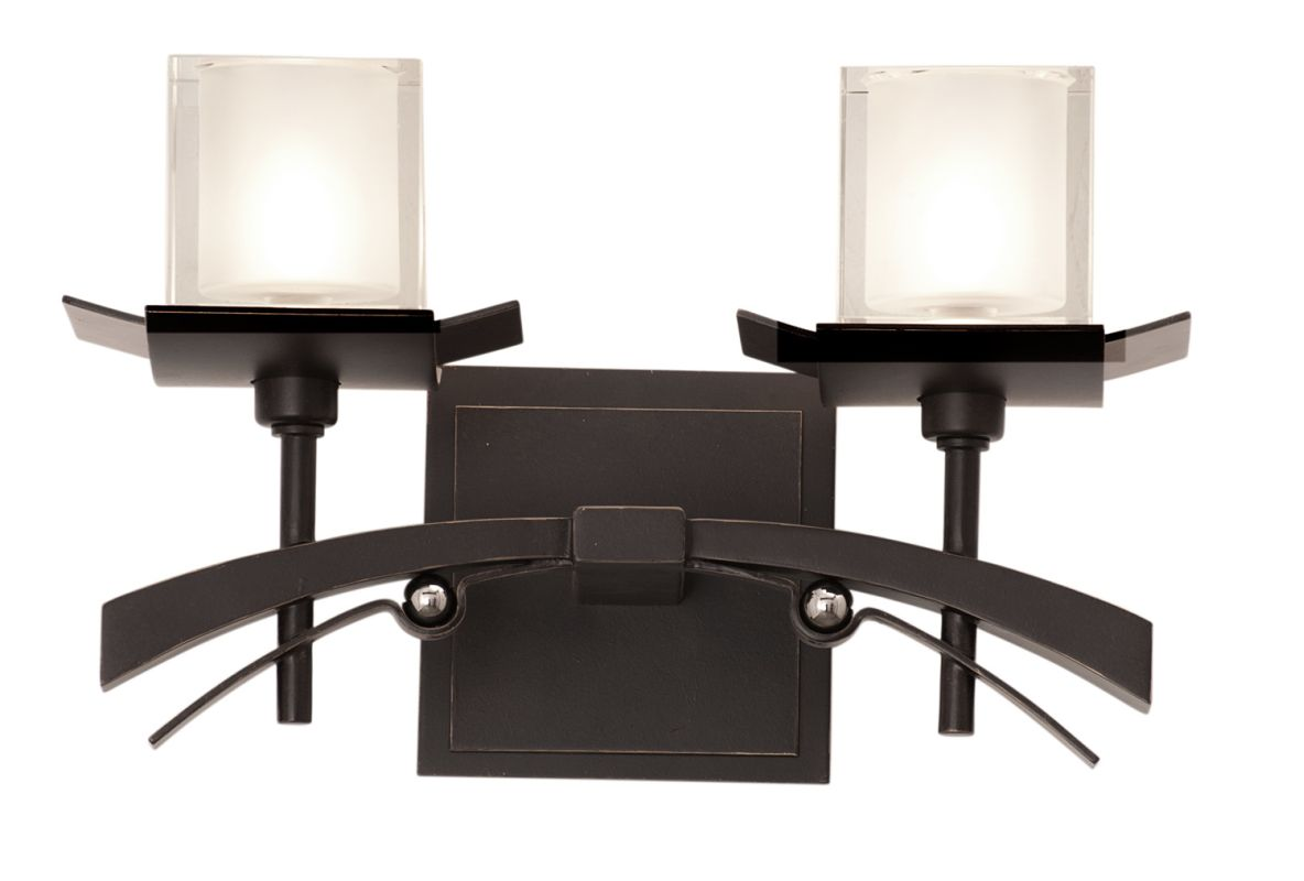 Kalco 2982TP Nijo 2 Light Bathroom Vanity Light Tawny Port Indoor Sale $208.00 ITEM: bci2591771 ID#:2982TP UPC: 720062031049 :