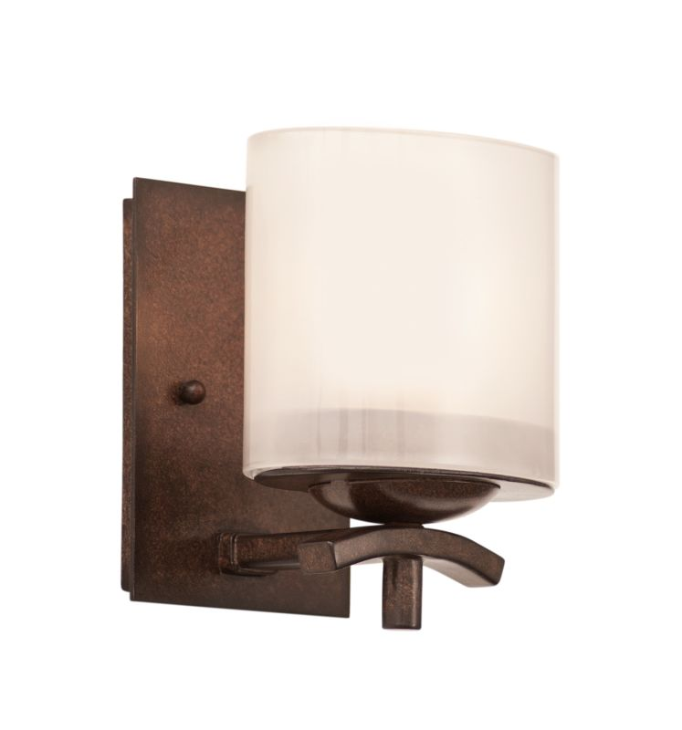 Kalco 2991TN Stapleford 1 Light Bathroom Sconce Tuscan Sun Indoor