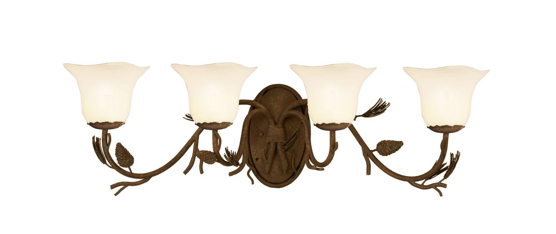 Kalco 3044PD/1265 Ponderosa 4 Light Bathroom Vanity Light Ponderosa Sale $616.00 ITEM: bci2591948 ID#:3044PD/1265 UPC: 720062137062 :