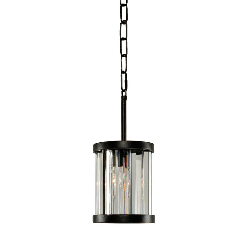 "Kalco 314250 Essex 6"" Wide 1 Light Mini Pendant Sienna Bronze Indoor"