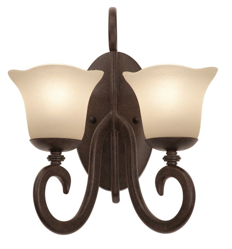 Kalco 3274TO/1255 Santa Barbara 2 Light Double Sconce Tortoise Shell Sale $350.00 ITEM: bci2595173 ID#:3274TO/1255 UPC: 720062188897 :