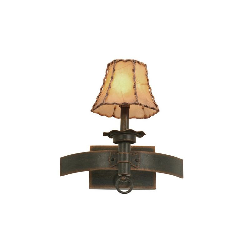 Kalco 4211 Americana 1 Light Wall Sconce Antique Copper Indoor