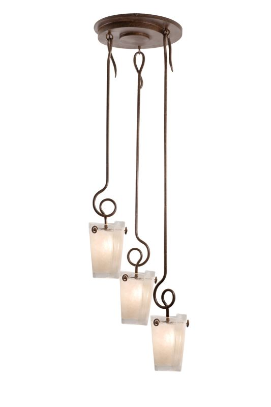 Kalco 4302TO/FROST Tribecca 3 Light Multi Light Pendant Tortoise Shell Sale $2864.00 ITEM: bci2594423 ID#:4302TO/FROST UPC: 720062273524 :