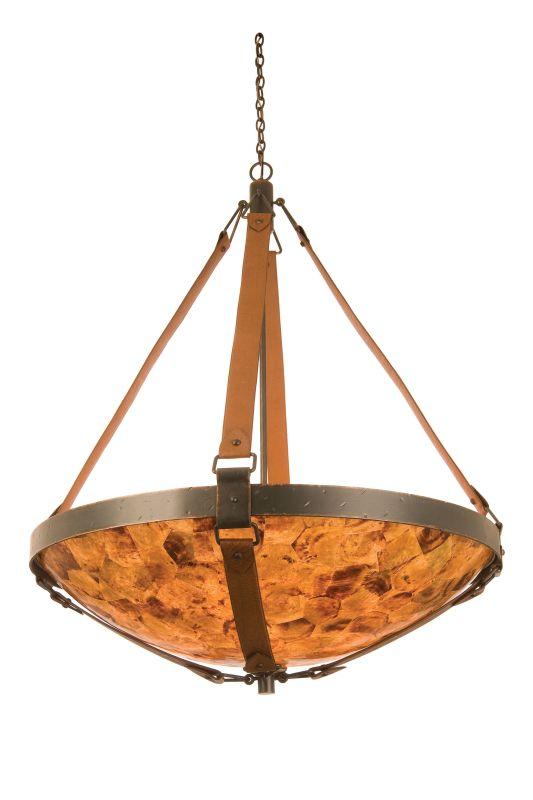 Kalco 4636AC/PS106 Rodeo Dr. 6 Light Bowl Pendant Antique Copper