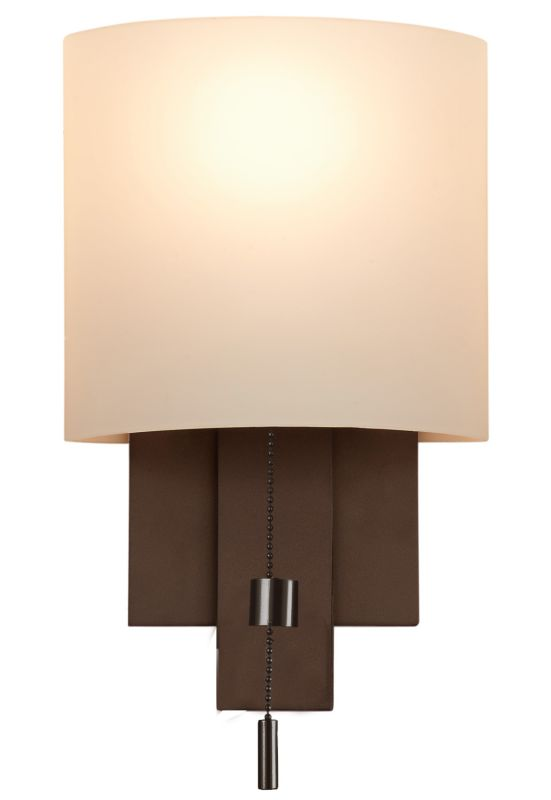 Kalco 4650 Espille 1 Light ADA Compliant Wall Sconce Bronze Indoor