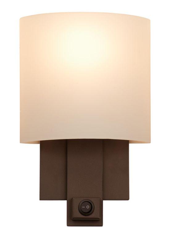 Kalco 4651BZ Espille 1 Light ADA Compliant Wall Sconce Bronze Indoor