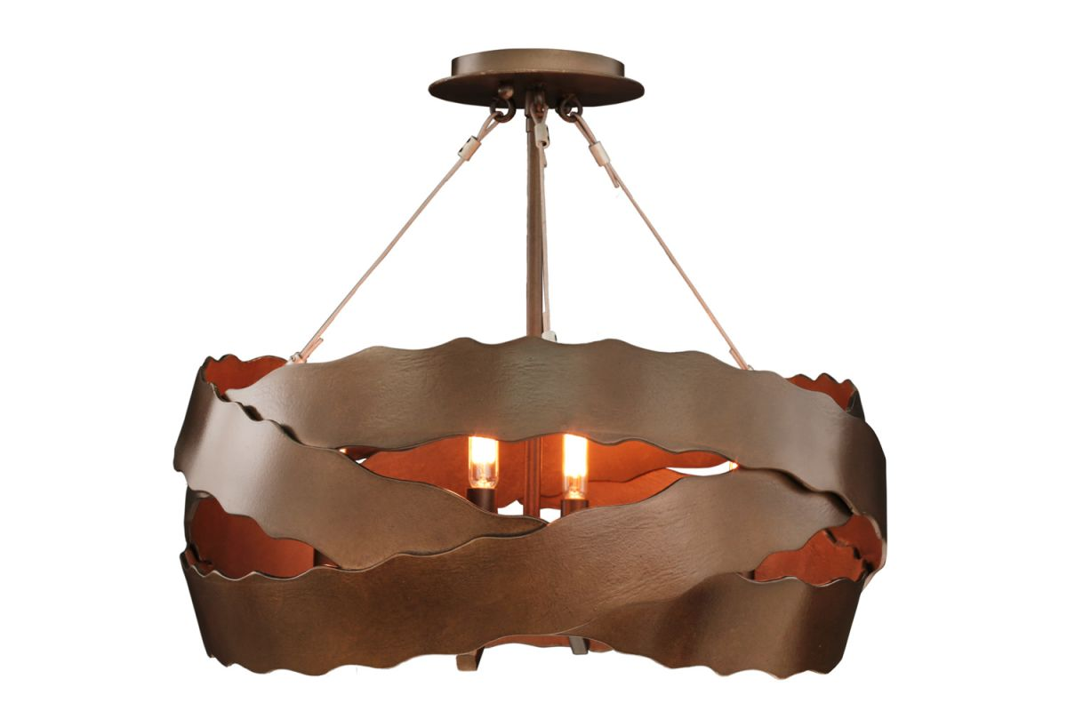 Kalco 502652 Fulton 5 Light Semi Flush Ceiling Fixture Brownstone Sale $586.00 ITEM: bci2854133 ID#:502652BS UPC: 720062279670 :