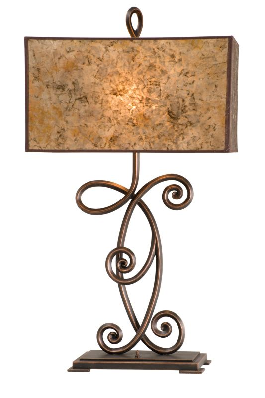 Kalco 5418 Windsor 2 Light Table Lamp Aged Silver Lamps
