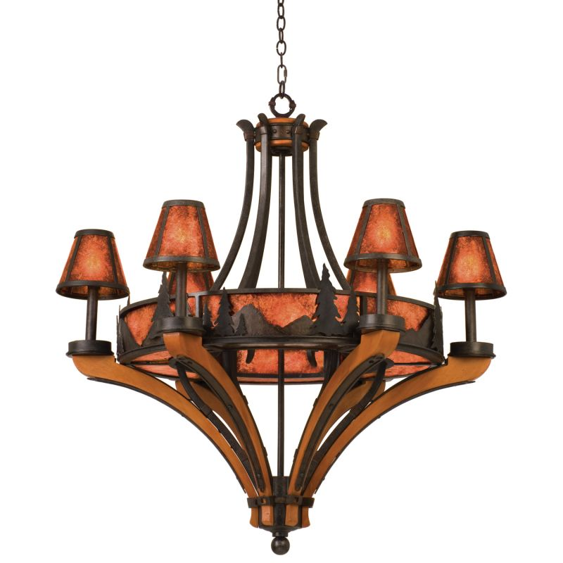 Kalco 5811NI Aspen 12 Light 1 Tier Chandelier Natural Iron Indoor Sale $4408.00 ITEM: bci2600069 ID#:5811NI UPC: 720062007730 :