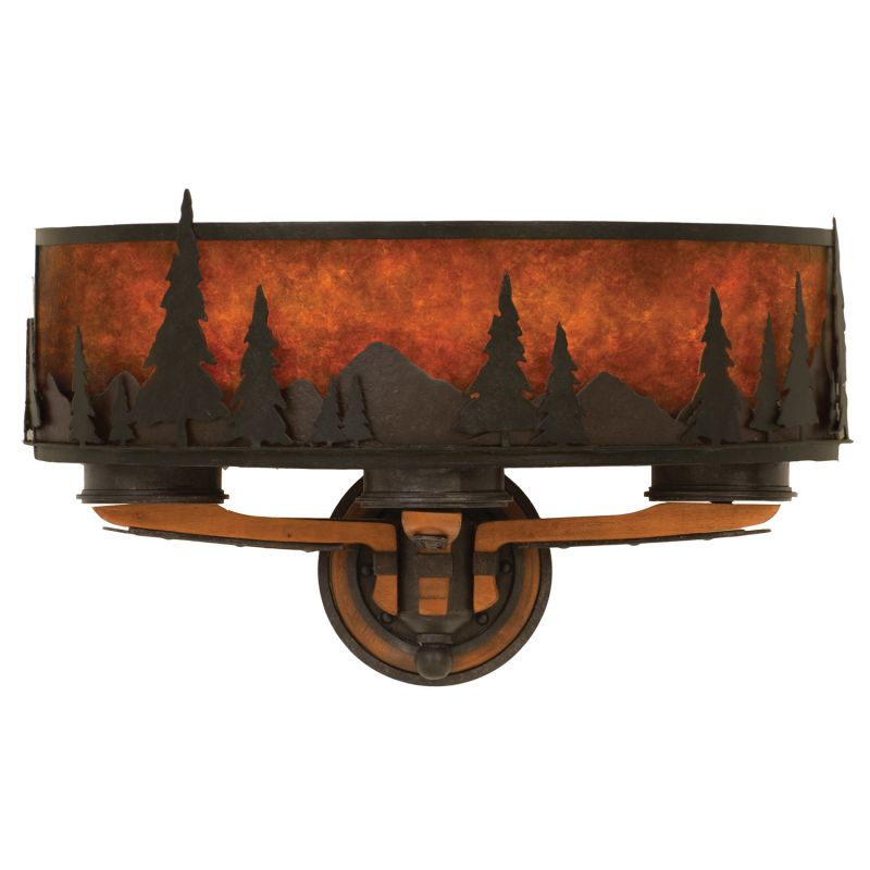 Kalco 5815NI Aspen 3 Light Wall Sconce Natural Iron Indoor Lighting Sale $990.00 ITEM: bci2595797 ID#:5815NI UPC: 720062007754 :