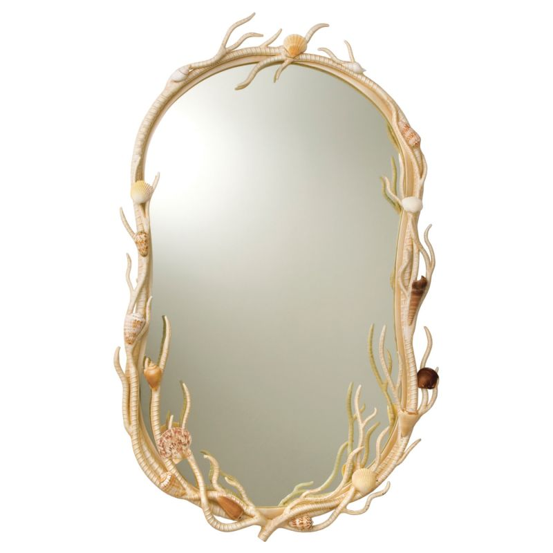 Kalco 6070CR Atlantis Wall Mirror Coral Home Decor Lighting Sale $548.00 ITEM: bci2591617 ID#:6070CR UPC: 720062008072 :