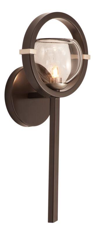 Kalco 6300OB-1 Lunaire 1 Light Wall Sconce Old Bronze Indoor Lighting