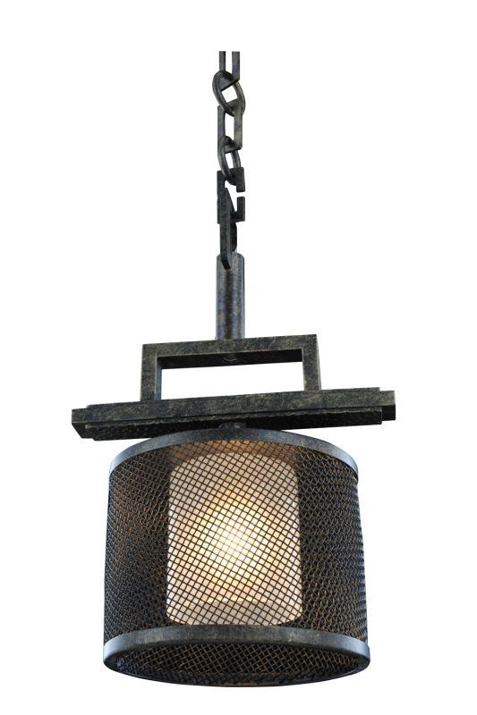 Kalco 6718VB Stanley 1 Light Mini Pendant Volcano Bronze Indoor