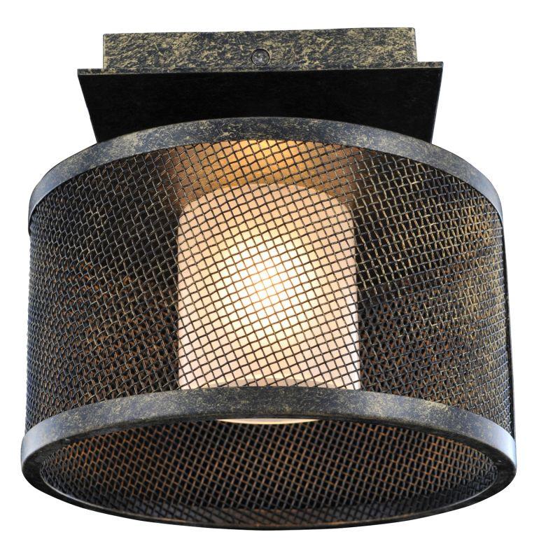 Kalco 6719VB Stanley 1 Light Semi-Flush Ceiling Fixture Volcano Bronze