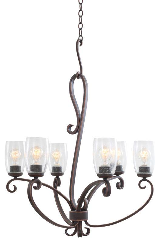 Kalco 7207AC Castaic 6 Light 1 Tier Chandelier Antique Copper Indoor Sale $542.00 ITEM: bci2600127 ID#:7207AC UPC: 720062262665 :
