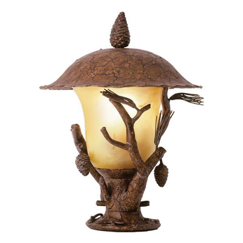 Kalco 9173 Ponderosa Outdoor 3 Light Lantern Head Ponderosa Outdoor
