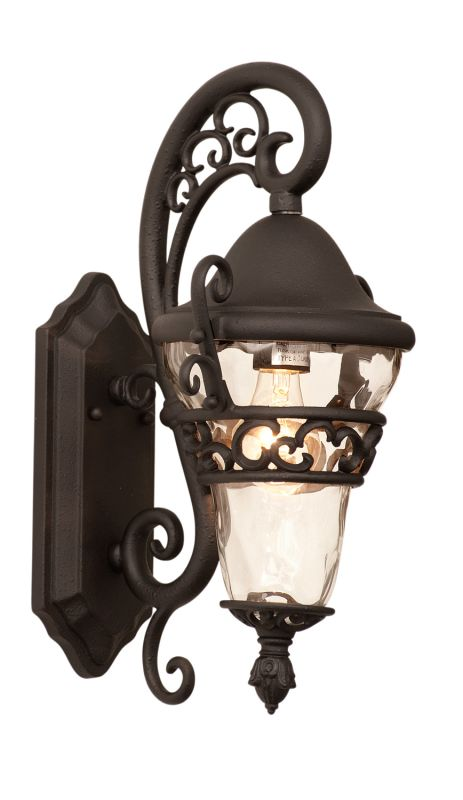 Kalco 9411MB Anastasia Outdoor 1 Light Wall Sconce Textured Matte