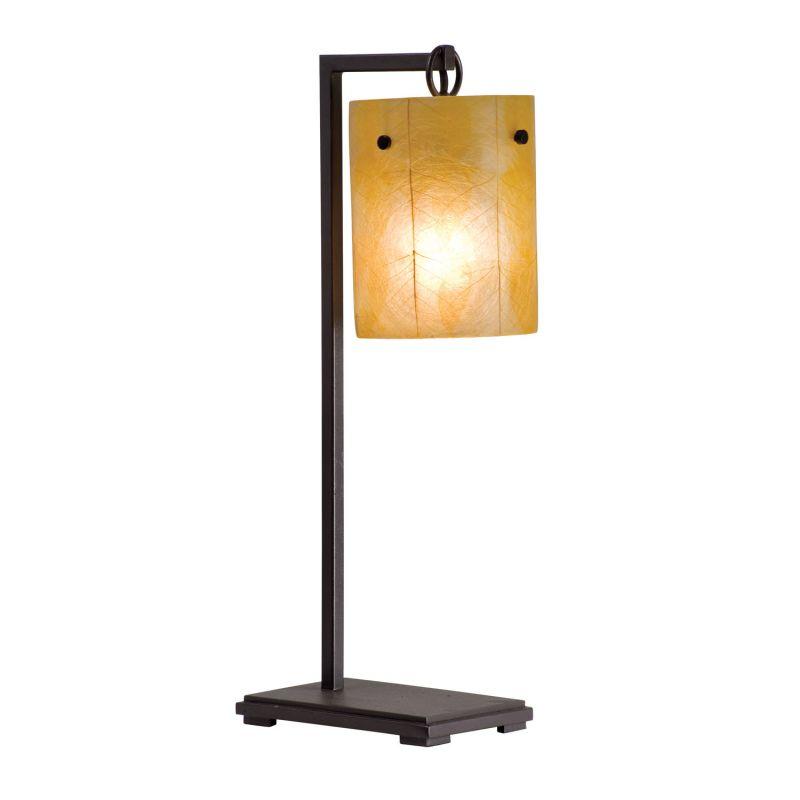 Kalco 945 Madera 1 Light Table Lamp Bronze Lamps