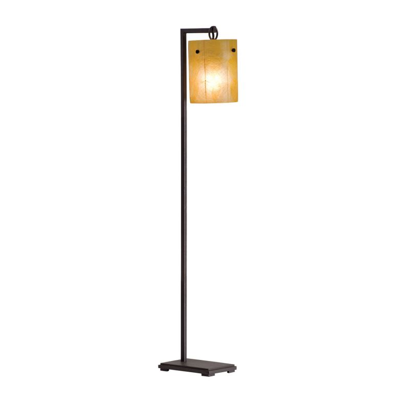 Kalco 946 Madera 1 Light Floor Lamp Bronze Lamps
