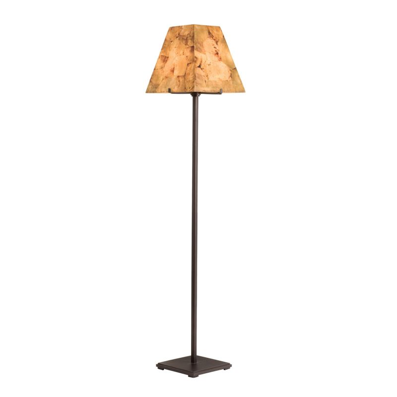 Kalco 948 Madera 1 Light Floor Lamp Bronze Lamps