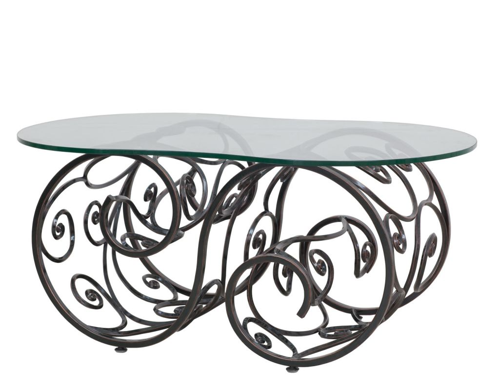 Kalco F783 Windsor Outdoor Coffee Table Antique Copper Furniture