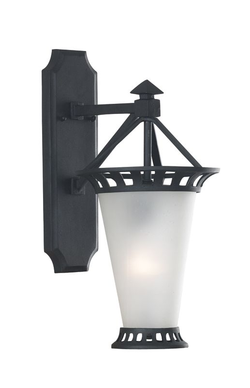 Kenroy Home 02890 3 Light Outdoor Wall Sconce from the Beale Street