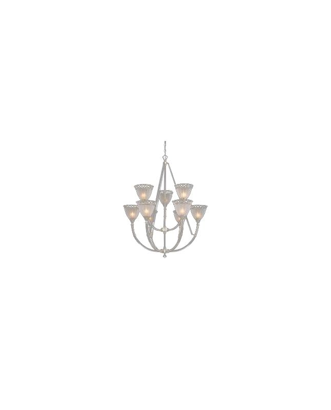 Kenroy Home 03513 9 Light Up Lighting Chandelier from the Cristallo