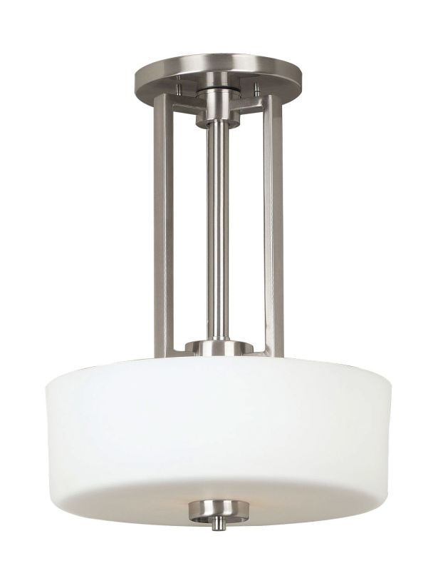 Kenroy Home 10180BS Two Light Down Lighting Pendant from the Sale $104.00 ITEM: bci994021 ID#:10180BS UPC: 53392101749 :
